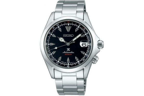 Mens Seiko Alpinist Watch SPB117J1