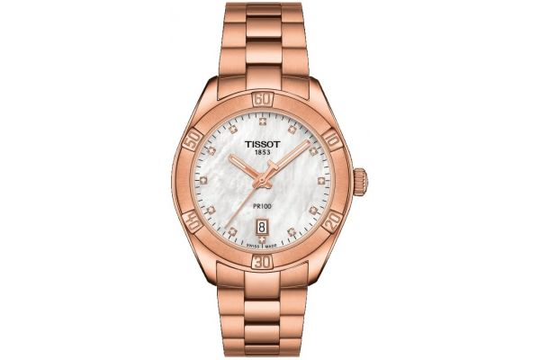 Womens Tissot PR100 Sport Chic Watch T101.910.33.116.00