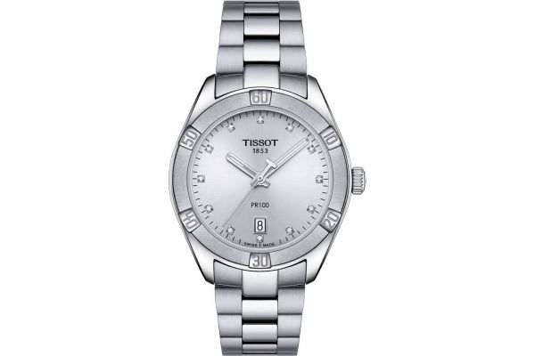 Womens Tissot PR100 Sport Chic Watch T101.910.11.036.00