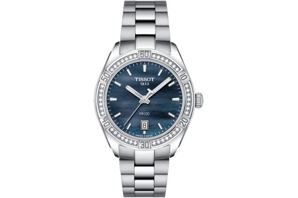 Womens Tissot PR100 Sport Chic Watch T101.910.61.121.00