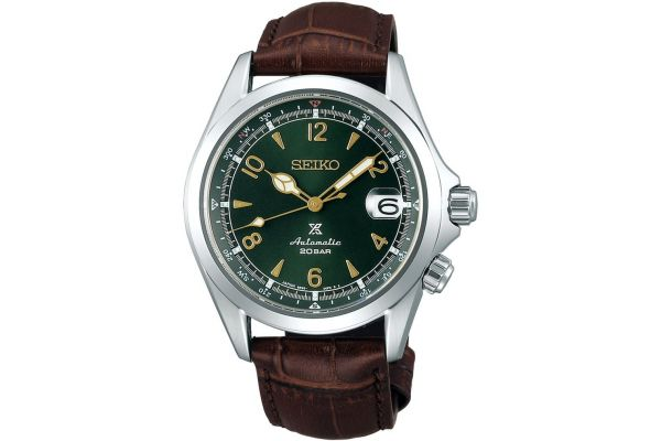 Mens Seiko Alpinist Watch SPB121J1