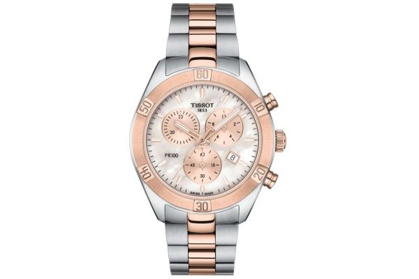 Womens Tissot PR100 Sport Chic Watch T101.917.22.151.00