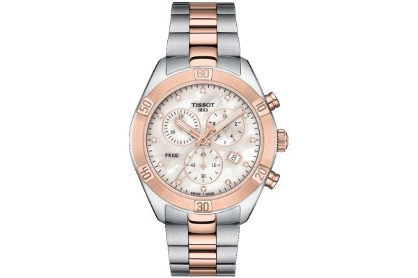 Womens Tissot PR100 Sport Chic Watch T101.917.22.116.00