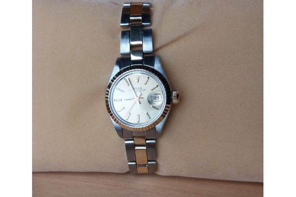 Womens Pre-owned Rolex Watch Oyster Perpetual Date 6917