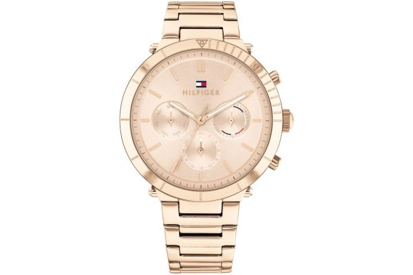 Womens Tommy Hilfiger Womens Rose Gold Watch 1782347