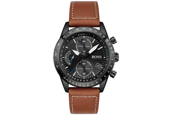 Mens Hugo Boss Pilot Edition Watch 1513851