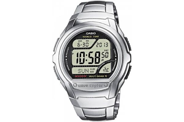 Mens Casio Wave Ceptor Watch WV-58DU-1AVES