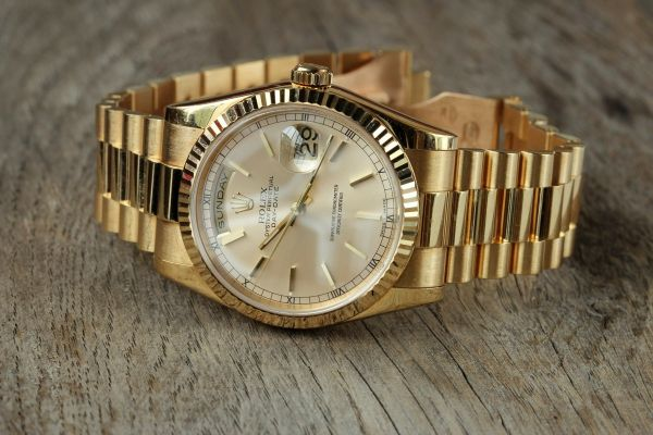 Mens Pre-owned Rolex Watch President 118238