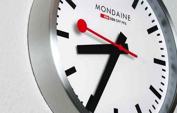Ingenious Swiss Railway Clock Creative Watch Co