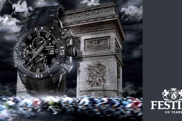 Festina watches, official time keepers - Tour de France