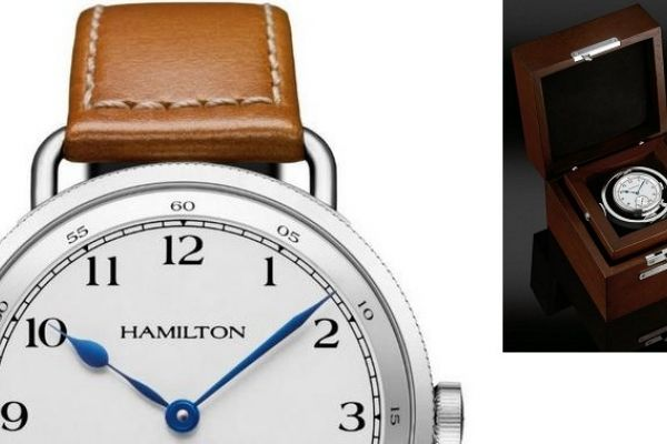 Commemorating Hamilton's 120 years of watch making history