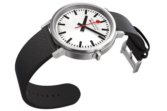 Mondaine's new stop2go Swiss Railways watch