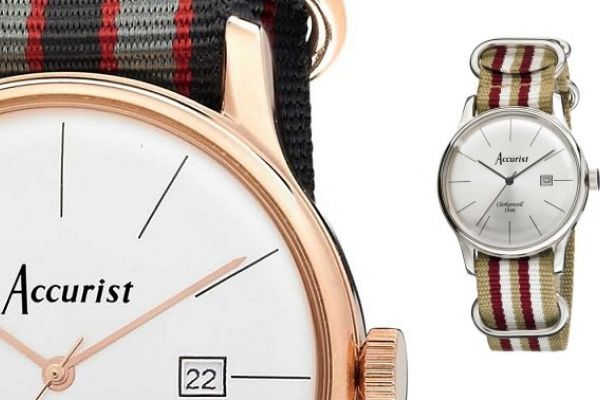 Accurist introduce vintage watches