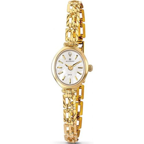 Womens Accurist Precious Metals Watch 8801