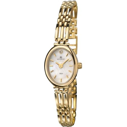 Womens Accurist Precious Metals Watch 8803