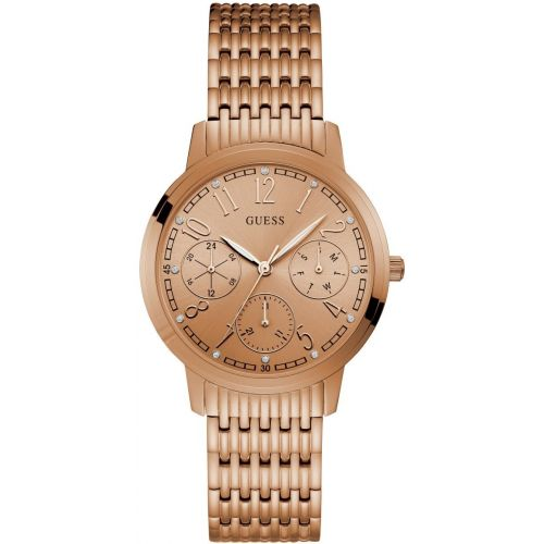 Womens Guess Lattice Watch W1088L2