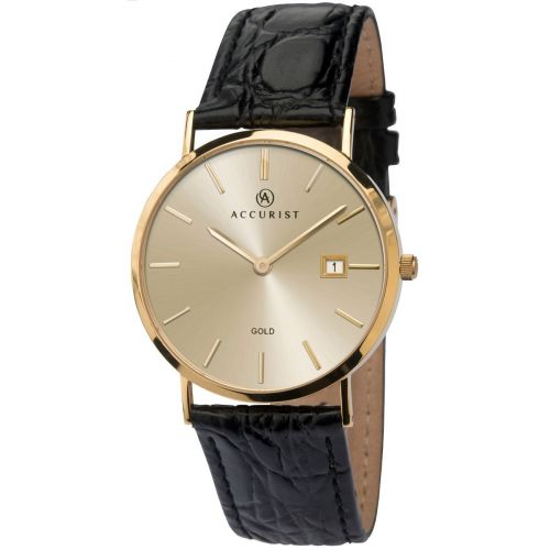 Mens Accurist Precious Metals Watch 7802