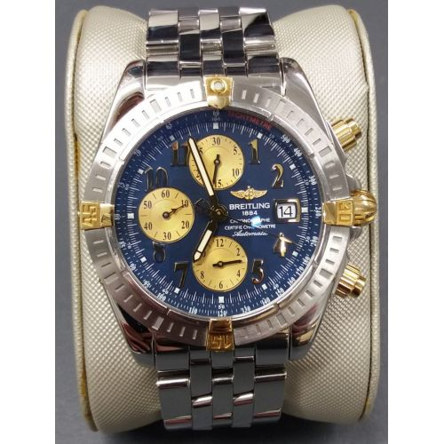 Mens Pre-owned Breitling Watch Chronomat B13356