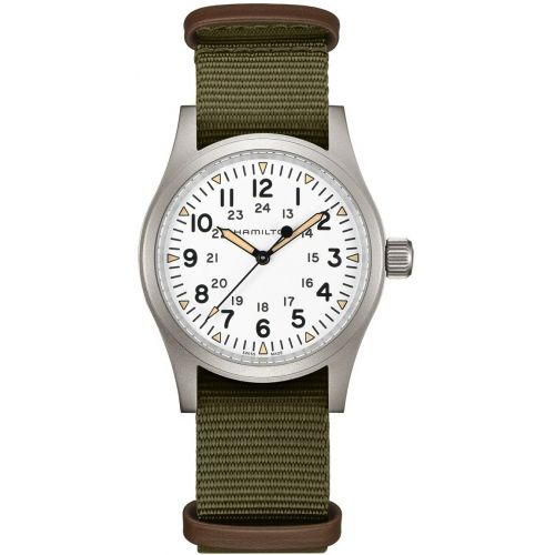 Mens Hamilton Khaki Field Watch H69439411