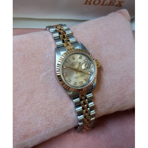 Womens Pre-owned Rolex Watch Oyster perpetual Datejust 69173